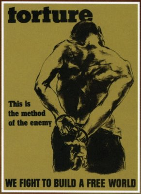 WWII Anti-torture poster